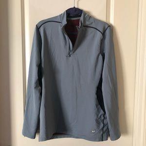 Nike pro combat DriFit quarter zip jacket.